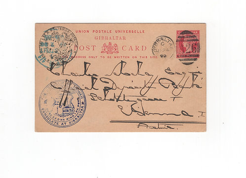 C465 1899 Consulate in Gibralter