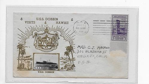U.S.S. Dobbin visits Hawaii