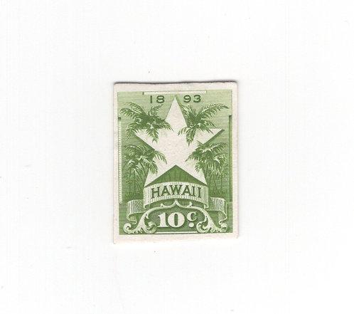 16-9e  Hawaii #77P4 Rare Card Proof