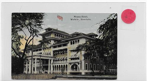 Moana Hotel - Waikiki