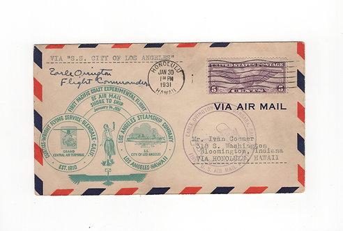 CA128*  Signed First Flight 1931