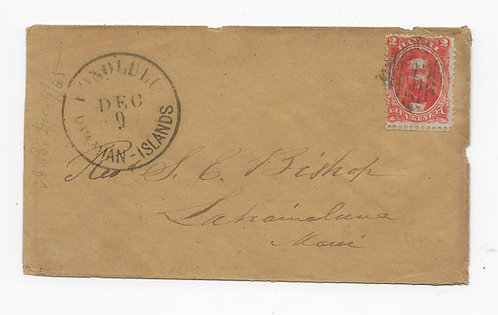 C187* #31 Cover To Rev'd Bishop