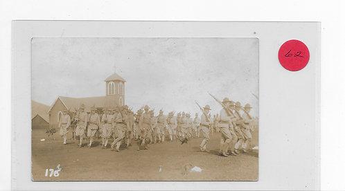 Chapel and troops - Schofield Barracks