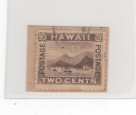 HI16_9ab Hawaii #75 Flying Goose