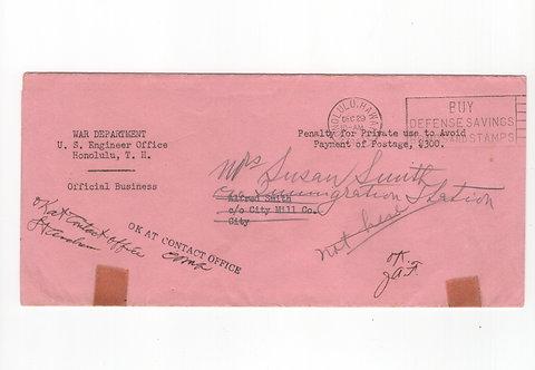 C487 1941 - Heavily Censored