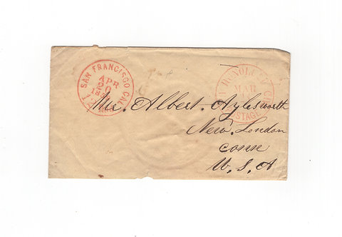 C467 Hawaii 1850's Cover Front
