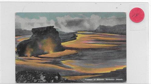 Volcano of Kilauea
