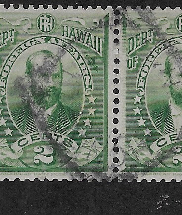 17-11 Hawaii #O1  Used Pair Official