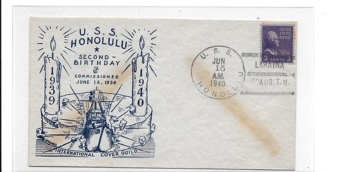"USS Honolulu ""Second Birthday"""
