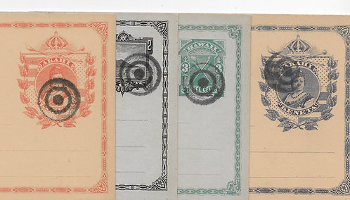CA103* 1stSet of Postal Cards (UX1-3,UY1)