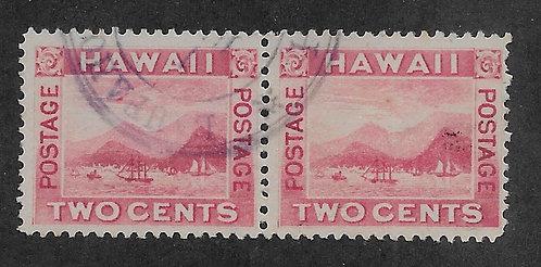"*16-33a Hawaii #81 ""Flying Goose"" Pair"