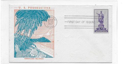15-127 FDC - Kamehameha #799