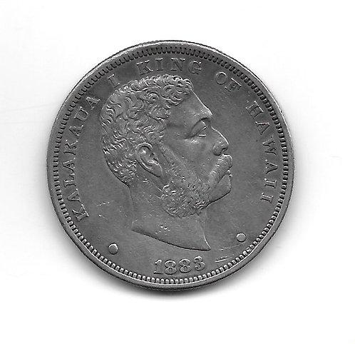 Hawaii 1883 Dollar