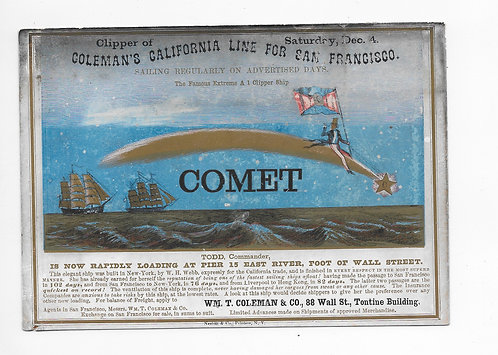 CA108* Clipper Ship Post Card