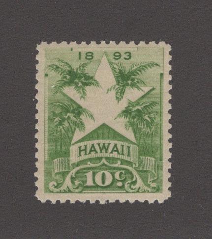 16-10c Hawaii #77  NH