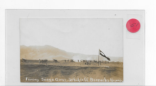 Firing Seige Guns - Schofield Barracks