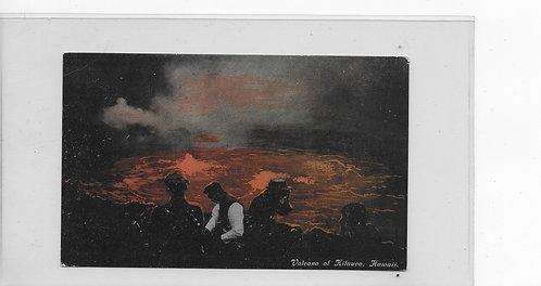 Volcano of Kilauea, 1913