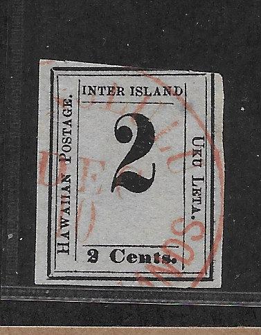 """4-23c Hawaii #16a """"2"""" at top"""