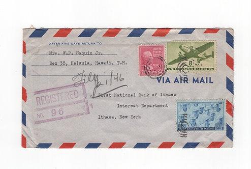 C450 1945 Hawaii 25¢ Presidential