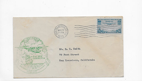 China Clipper First Day Cover