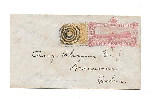 C289* HI #72 on small envelope