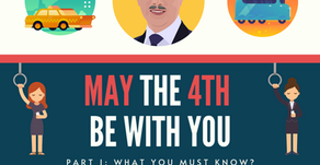 May the 4th Be With You (Part 1): Public Transports & E-hailing Rides