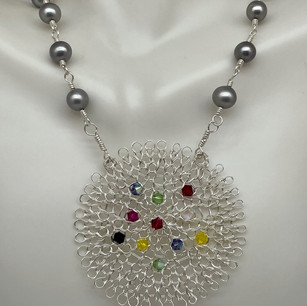 Custom Kentucky Pearl Necklace