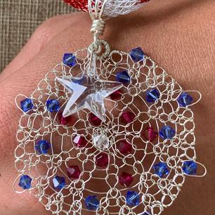 Firework Pendant Necklace