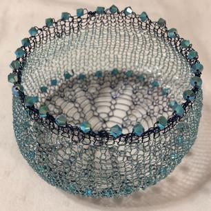 Blue Crystal Vessel