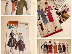 Vintage Dress Patterns: Window to the Past