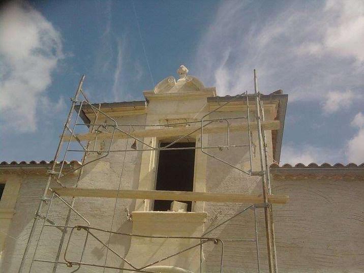 Rénovation château