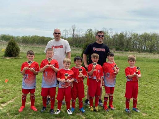U8 Boys Take 2nd in Cincinnati Tournament