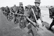South African Defense Force troops were involved in a number of regional conflicts during the cold war. There was compulsory conscription for all men from the age of 18.