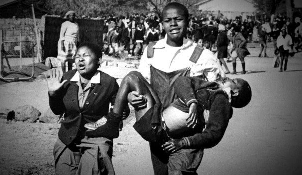 Hector Pieterson was a South African schoolboy who was shot and killed during the Soweto uprising of 1976, when the police opened fire on students protesting the enforcement of teaching in Afrikaans. The powerful image stunned the world and he became a symbol for the resistance.