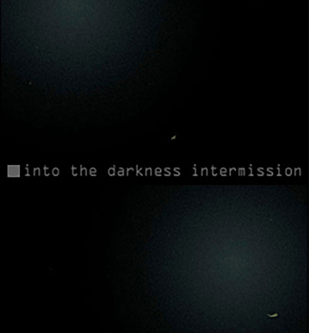 Into The Dark (Intermission)