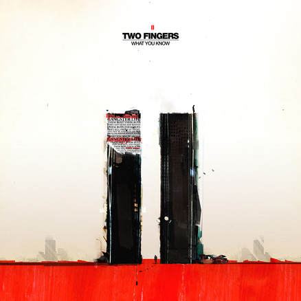 """TWO FINGERS WHAT YOU KNOW  """"Amon tobin has very kind eyes, and beautiful soft hair. Besides that (that and his gentle voice) his music is also a constant inspiration and has been a major influence on us.""""  – Thijs –Noisia  2009"""