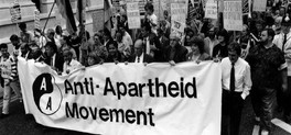 The anti aprtheid movement was a long struggle from 1948 to 1994.