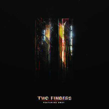 """TWO FINGERS Ft SWAY  """"like finding an old sci-fi pulp novel and marveling about how its visions of the future were so much cooler than how the future actually turned out.""""  – Pitchfork  2009"""