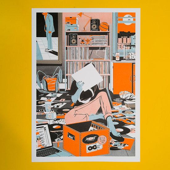 Print 001 by Mason London