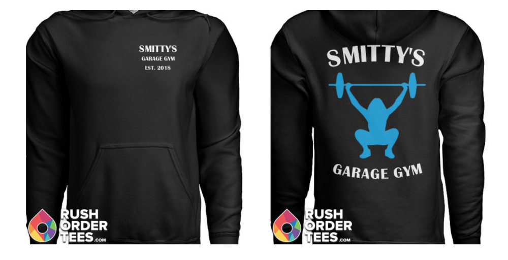 Shirt sweatshirt order