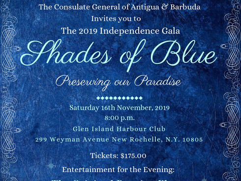 Preserving our Paradise- 2019 Independence Gala, Saturday 16th November