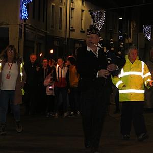 Stranraer Torch Parade