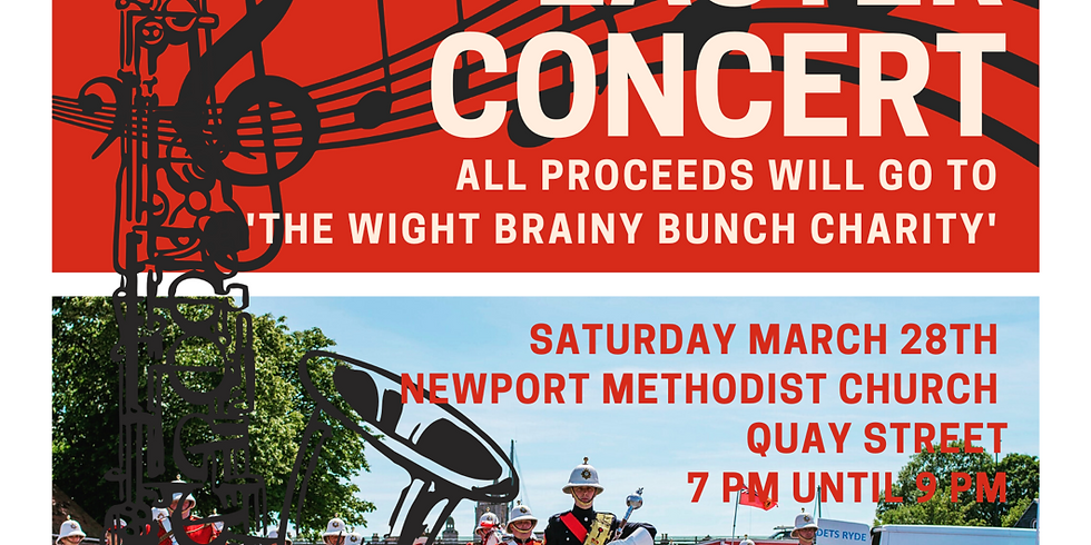 Easter Concert - In Aid Of 'The Wight Brainy Bunch'