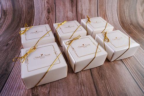 6 Pack: 4pc. Mithai Shaheen Box