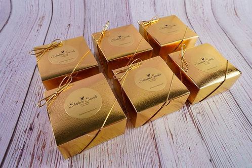 6 Pack: 4pc. Mithai Golden Box