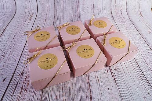 6 Pack: 4pc. Mithai Pink Box