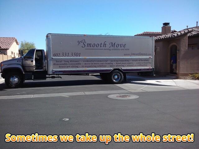 moving in Gilbert, AZ