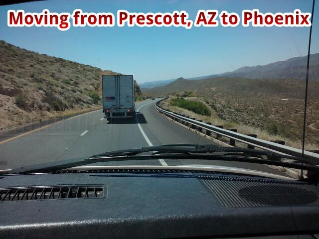 Moving to Prescott from Phoenix