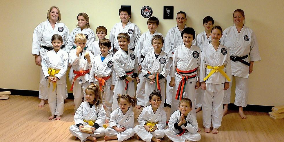 September Karate Registration