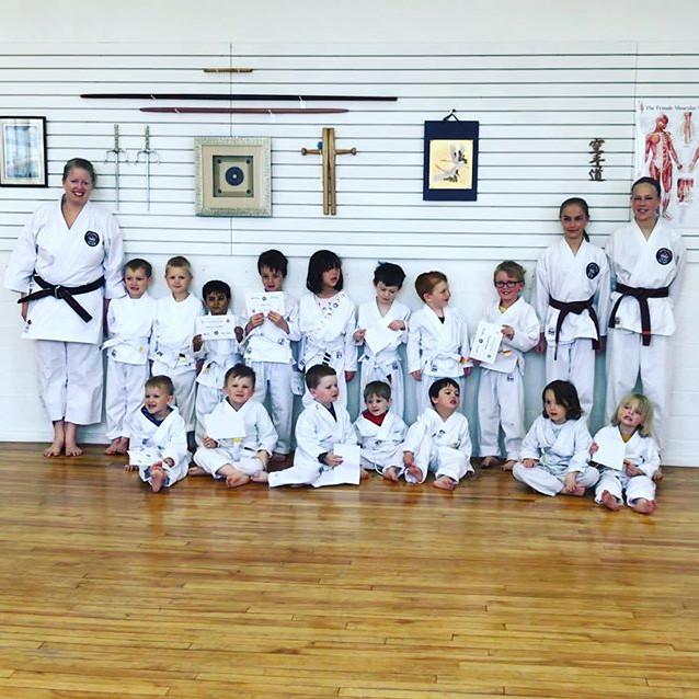 Kinder Karate Stripe Ceremony 10:35 AM